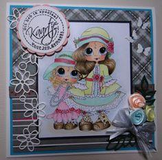 Besties card by Wendy