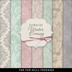 Wednesday's Guest Freebies ~ Far Far Hill ♥♥Join 2,980 people. Follow our Free Digital Scrapbook Board. New Freebies every day.♥♥