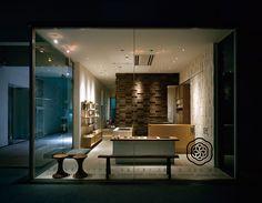 Simplicity store / interior / display в 2019 г. shop front d Japanese Shop, Japanese Modern, Shop Front Design, Store Design, House Design, Dining Club, Dining Table, Cafe Restaurant, Design Awards