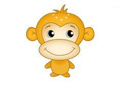 Рисуем обезьяну с детьми, символ Нового 2016 года
