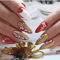Winter Nails, Nail Art, Beauty, Fashion, Pretty Nails, Moda, Fashion Styles, Cosmetology, Fashion Illustrations