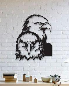 Kartal Metal Plaka - Eagle