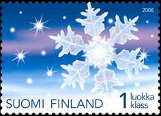Frosty Night won the 2008 Most Beautiful Stamp of the Year competition in Finland