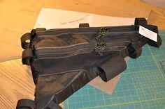 Frame bag for Chad's Moonlander.