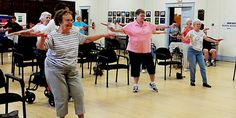 Tap Dance Class for Senior Citizens See if senior groups need help or volunteers