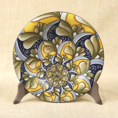 """Decorative plate, 17"""" ships direct from Vietri Italy to you. Please contact us for pricing."""