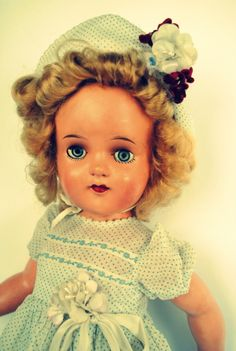 Vintage Doll da Estrela decada 40
