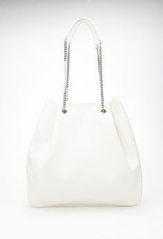 Pebbled Faux Leather Tote | Forever 21 - 1000132683