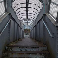 Footbridge over the District Line in Dagenham #essex