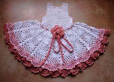 Crochet Dress Pattern No 97 by Illiana on Etsy: