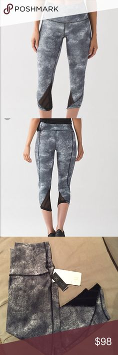 NWT Lululemon Essential Rhythm Crop Fullux Gorgeous pants that are no longer available at Lululemon.  Hugged sensation.  Please see photos for complete description.  No trades.  Reasonable offers will be considered. lululemon athletica Pants Ankle & Cropped
