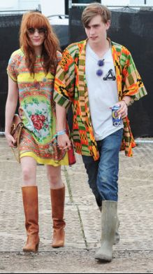 LOVE Florence Welch's festival look!