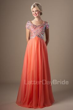 Modest Prom Dresses : Joanna