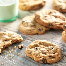 Gluten-Free Chocolate Chip Cookies: These cookies are open to your own imaginative interpretation. Try butterscotch chips and toasted salted pecans, or white chocolate and cranberries, in place of the chocolate chips.