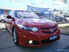 2012 Honda Accord 10 MY12 Euro Red Automatic 5sp A Sedan #honda #accord #forsale #australia