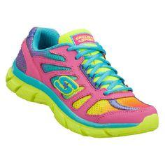 Skechers Dreamcatcher Pre/Grd Shoes (Neon Pink/Multi) - Kids' Shoes - 4.5 M