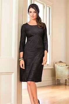 Women's Dresses - Capture Textured Dress