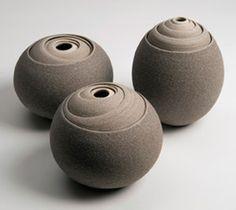 LunaVida Pottery (Layer Art) via Ellen Lupton