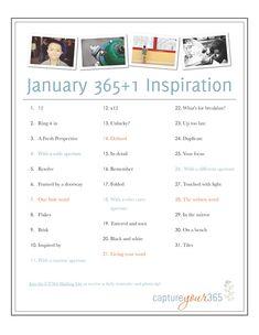 Photo challenge - January
