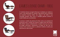 Eames Lounge Chair, 1956.