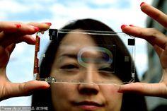 Smartphone transparent : Polytron Technologies dévoile premier exemplaire -