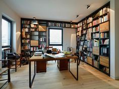 modern Study/office by HONEYandSPICE innenarchitektur + design