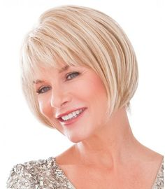Shop our online store for a selection of bob-cut hair wigs for women. These natural hair and synthetic wigs fit petite, average and large head sizes. Bobbed wig styles include straight, wavy and curly textures in your favorite modern or classic hairstyle. Short Hairstyles For Thick Hair, Short Hair Cuts, Wig Hairstyles, Short Hair Styles, Hairstyle Ideas, Hairstyle Short, Hairdos, Long Hair, Wilshire Wigs