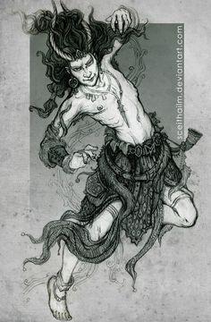 Loki_Sketchbook by SceithAilm on deviantART