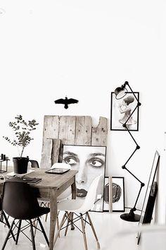 réplicas de eames en negro o en blanco? Elígelas en www.dekodirect.com