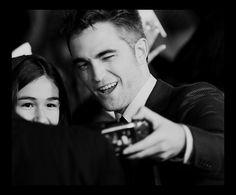 BD2 LA Premier ~ Nov. 12, 2012  {beautiful b/w photo with young fan!}