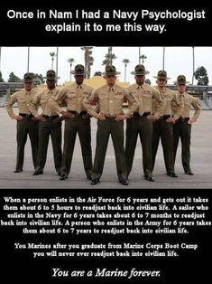 Marine Corps Quotes, Marine Corps Humor, Usmc Quotes, Usmc Humor, Soldier Quotes, Us Marine Corps, Military Jokes, Military Girlfriend, Military Life