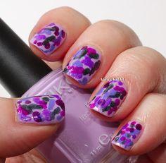 Hiding in purple