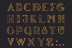 Insomnia Deco – Display Type by Almanac Design on @creativemarket
