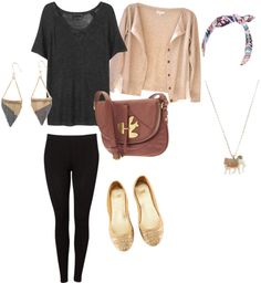 """""""College Clothes 12"""" by dylanelise on Polyvore"""