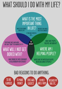 what should I do with my life? Infographic, self help, personal development