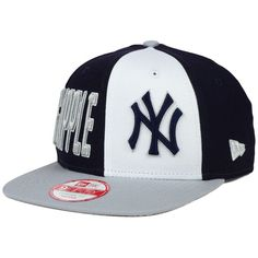 2a1dd157902 New Era New York Yankees My Block 9FIFTY Snapback Cap ( 32) ❤ liked on  Polyvore featuring mens