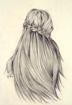 beauty hairstyle for drawing