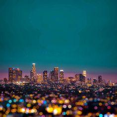 City Lights. Photo by @oak_giant