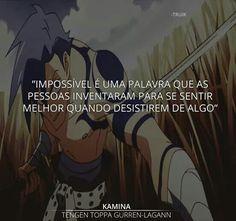 Nome do anime esta na foto(só q embaixo ) Otaku Meme, Dark Thoughts, Gurren Lagann, Bad Timing, I Love Anime, Fujoshi, Some Words, Memes, Best Quotes