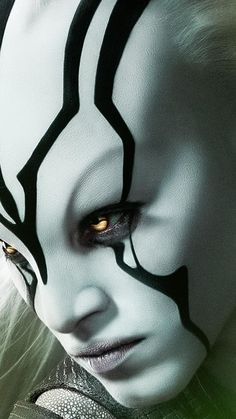 Jaylah from Star Trek Beyond, I want to try and do this makeup sometime