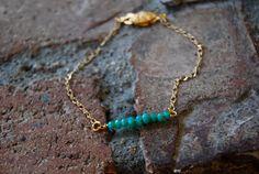 Corona Del Mar Bracelet by TheseJoyfulAches on Etsy