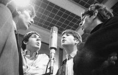 The Beatles, Abbey Road Studios, early 1964