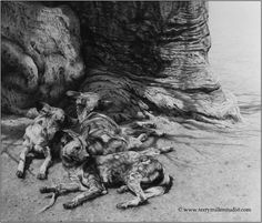 Terry Miller - Graphite Artist - Wildlife Art Deer Drawing, Wildlife Art, Monochrome, Lion Sculpture, Statue, Graphite, Drawings, Artist, Pencil