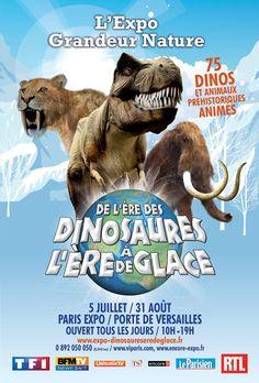 Les Dinosaures débarquent à Paris Expo