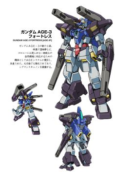 Gundam AGE-3 Fortress! I am waiting for the HG version of it for a long time! @O@