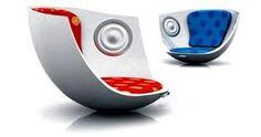mobiliario retro futurista - Buscar con Google
