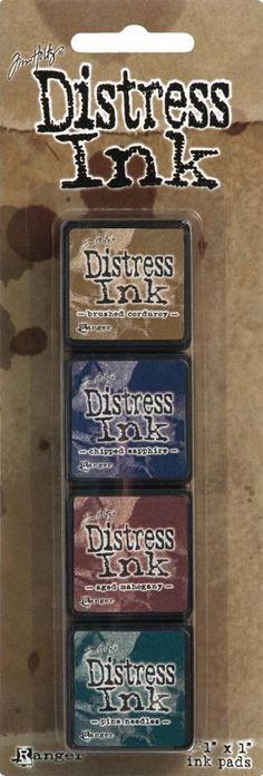 Tim Holtz/Ranger Ink Mini Distress Ink Kit #12