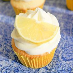 These summery cupcakes made with lime infused olive oil will make even the biggest scrooge worship your baking talents.
