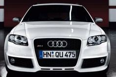 """#Audi #RS4 exclusive in """"Black and White"""""""