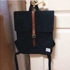 Black Hershel Backpack! Really great and comfy backpack. Used less than 5 times but it's in basically new condition. I'm selling because I want a white one. Herschel Supply Company Bags Backpacks